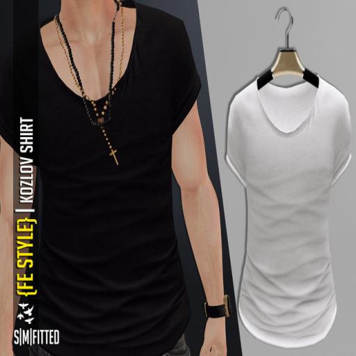 {Fe Style} Kozlov Shirt [WHITE]